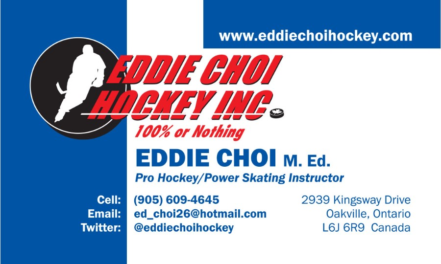 Eddie Choi Hockey